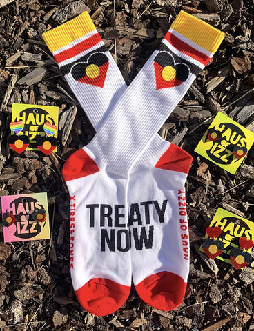 TREATY NOW SOCKS