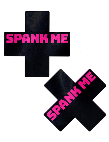 CROSS NIPPLE PASTIES - SPANK ME