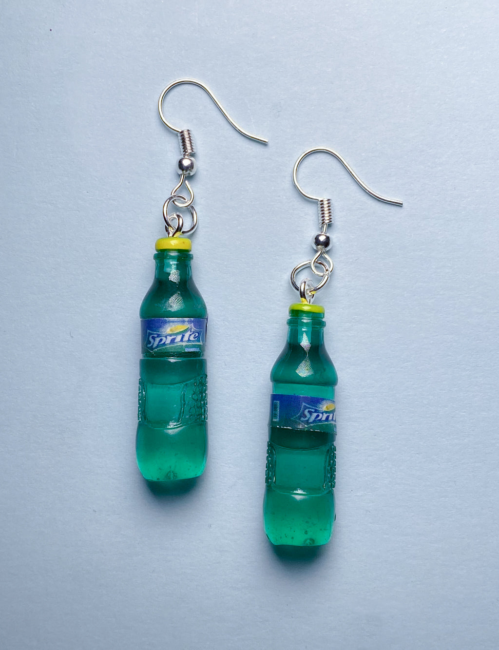SPRITE BOTTLE EARRINGS