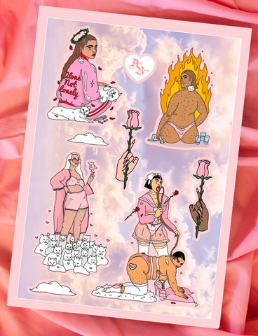 HEAVEN SENT STICKER SET