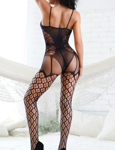 RECOGNISE FISHNET BODYSUIT / BODY STOCKING