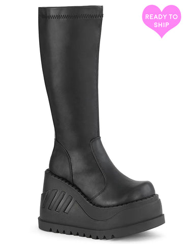STOMP 200 BOOTS - BLACK