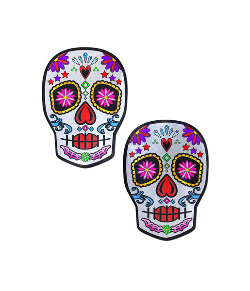 SUGAR SKULL NIPPLE PASTIES