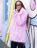 SUGAR HIGH FAUX FUR JACKET *MADE TO ORDER*