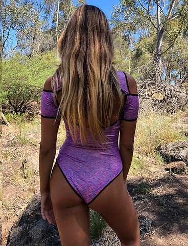 SWOON BODYSUIT - PURPLE