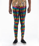 HOLOGRAPHIC MEGGINGS - TECHNO TIGER