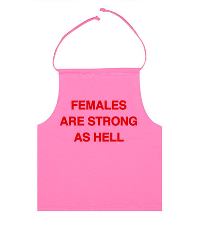FEMALES ARE STRONG HALTER