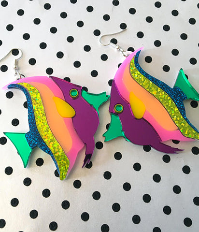TROPICAL FISH EARRINGS