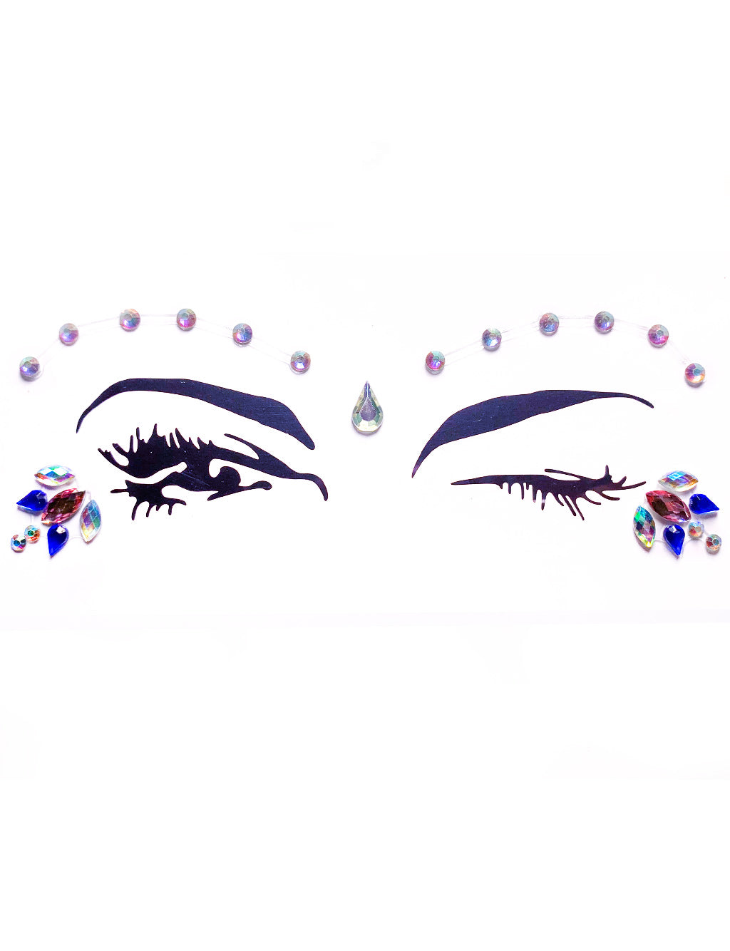 TWINKLE TEARDROPS FACE JEWELS