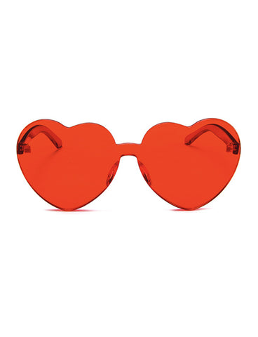 UNDER MY SPELL HEART SHADES - RED