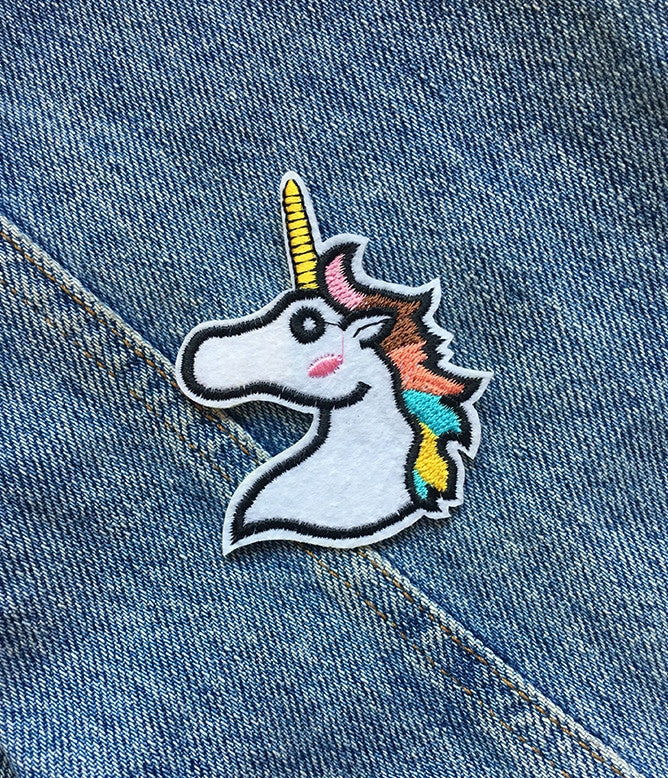 PASTEL UNICORN IRON ON PATCH