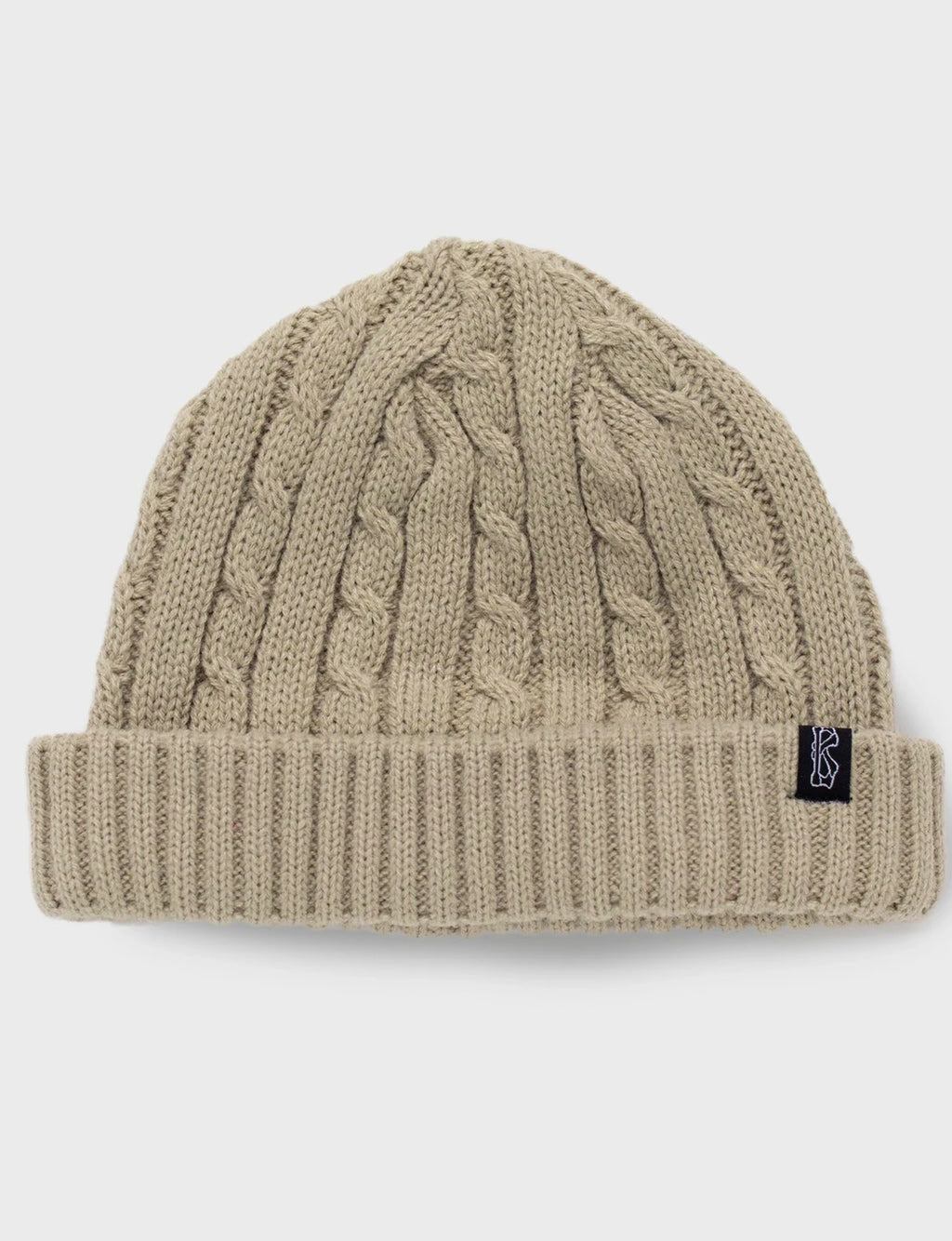Fisherman Knit Beanie - Vanilla Cream