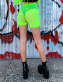 MOODS MESH SHORTS - NEON YELLOW