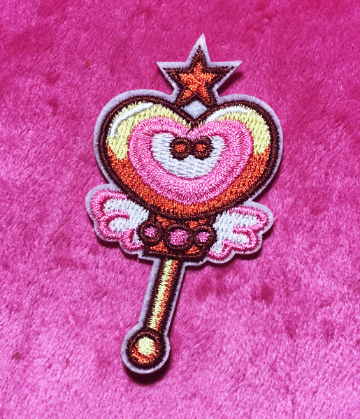 SAILOR MOON WAND PATCH