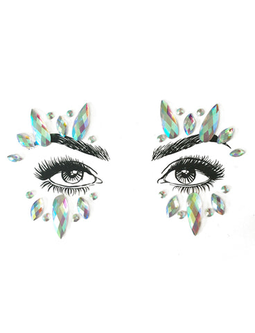 WHITE WITCH FACE JEWELS