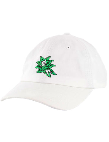 TUCKED IN DAD HAT - WHITE