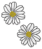 WILD FLOWER NIPPLE PASTIES - WHITE