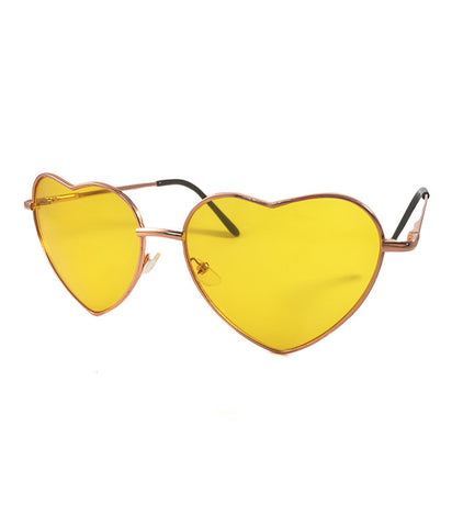 LOVE BUG SHADES - YELLOW *PRE ORDER*