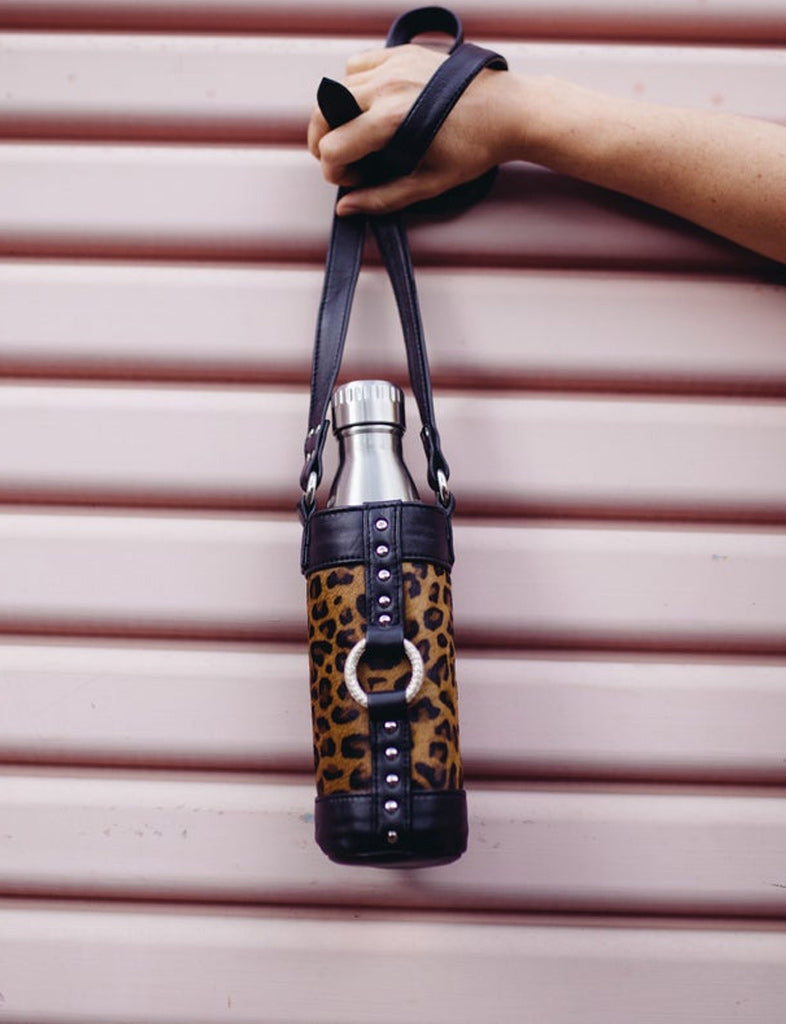 The Eco Bottle Holster - Leopard