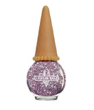 I SCREAM NAILS UFO PINK GLITTER NAIL POLISH