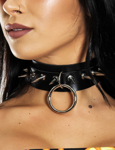 INTO THE UNKNOWN 2.0 CHOKER - BLACK