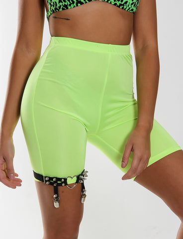 HIGH LIFE SHORTS - NEON YELLOW