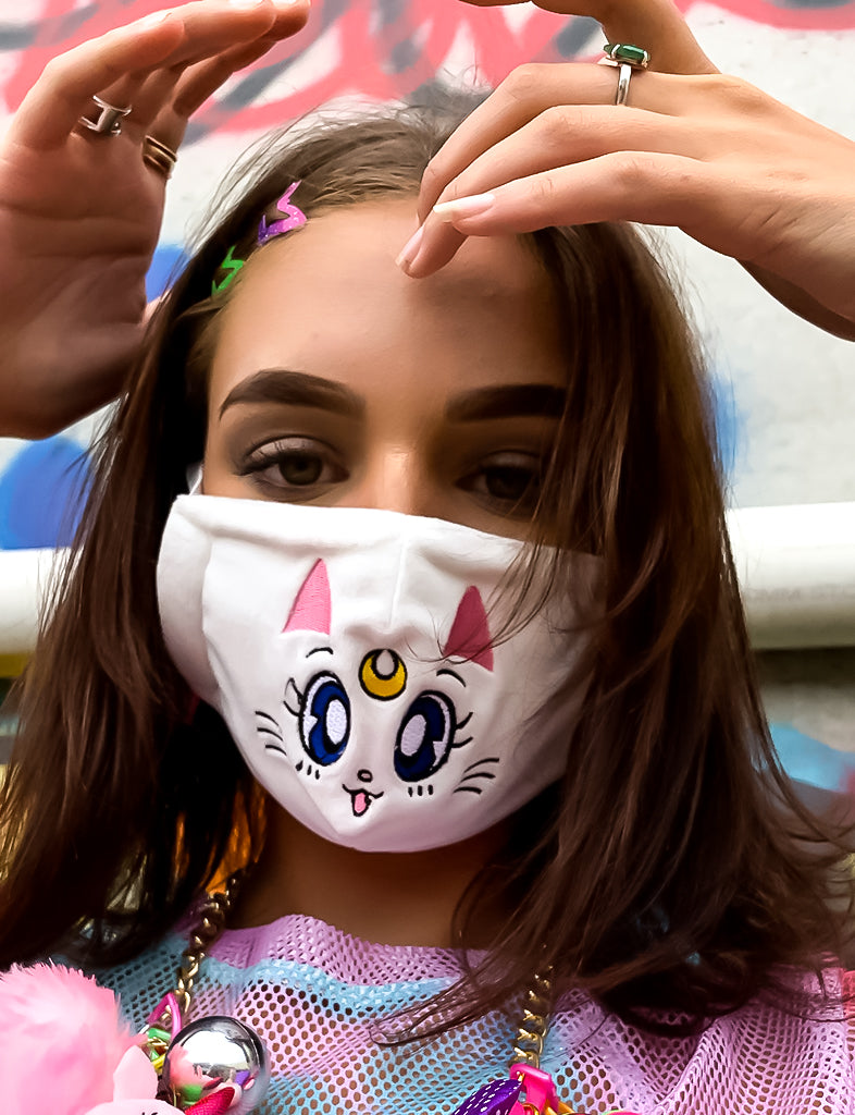 DUST MASK - WHITE SAILOR MOON *PRE ORDER*