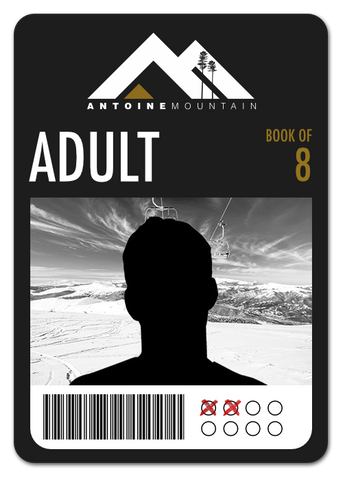Adult (18-64) Book of 8