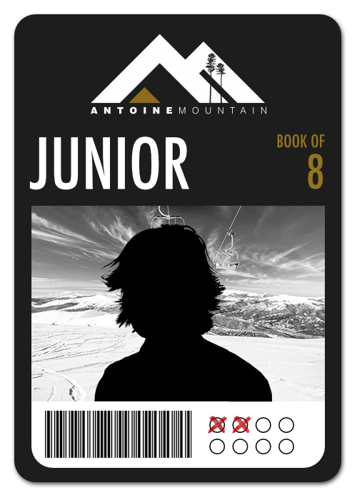 Junior (6-17) Book of 8