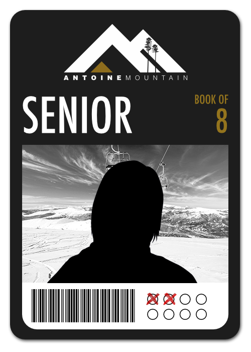 Senior (65+) Book of 8