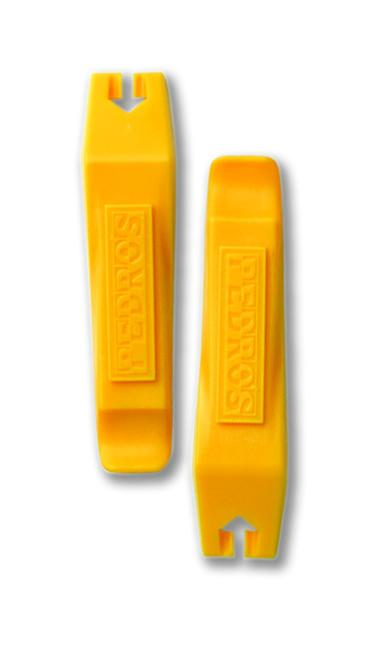 Yellow Pair of 2 Pedro/'s Bicycle Tire // Tube Change Levers Tool Set