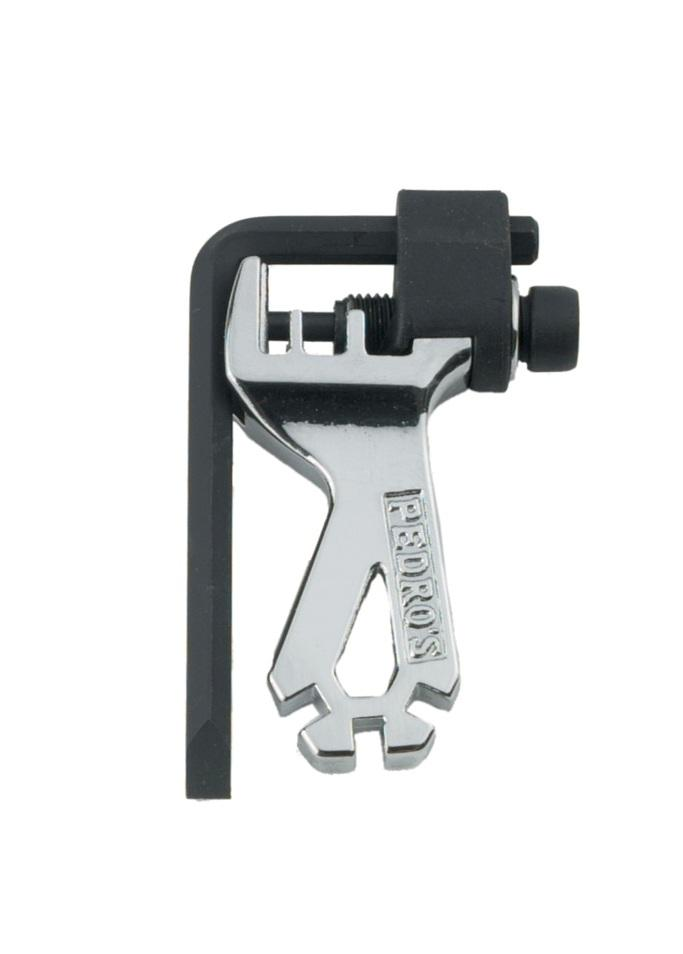 PEDRO/'S MULTI SPOKE WRENCH 3-FUNCTIONS BICYCLE TOOL