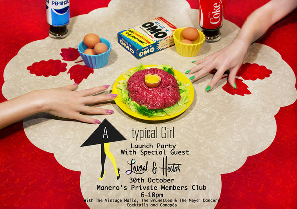 Atypical Girl Launch Party with special guest Laurel and Hector