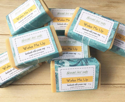 Wake Me Up - Goat's Milk {Handcrafted Country Soap}