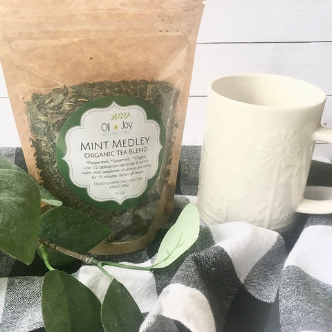 Mint Medley Tea, Organic