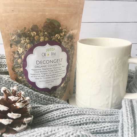 Decongest Cough Tea, Organic