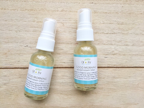 Good Morning Aromatherapy Skin Spray, Organic