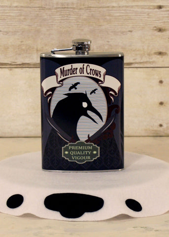 Murder of Crows Flask
