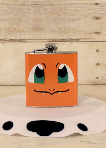 Fire Lizard Flask