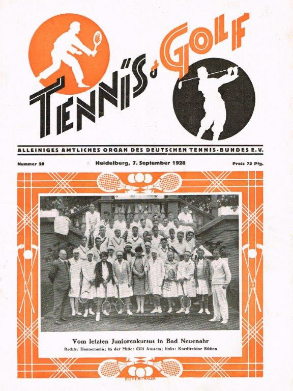 1928 Tennis & Golf Magazine