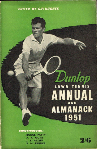 1951 Dunlop Lawn Tennis Annual and Almanack