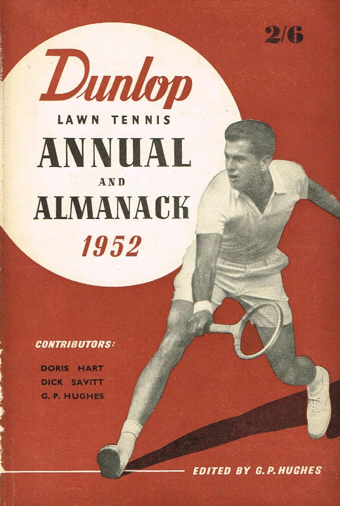 1952 Dunlop Lawn Tennis Annual and Almanack