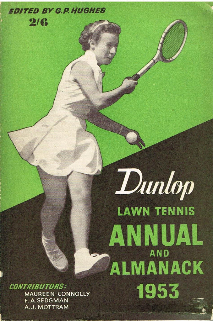 1953 Dunlop Lawn Tennis Annual and Almanack