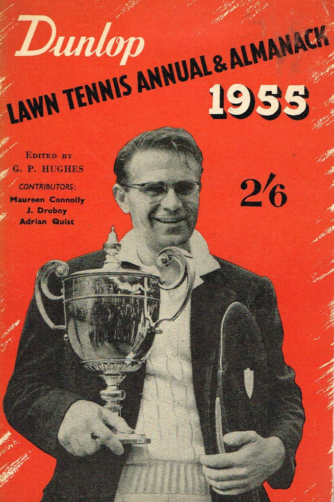 1955 Dunlop Lawn Tennis Annual and Almanack