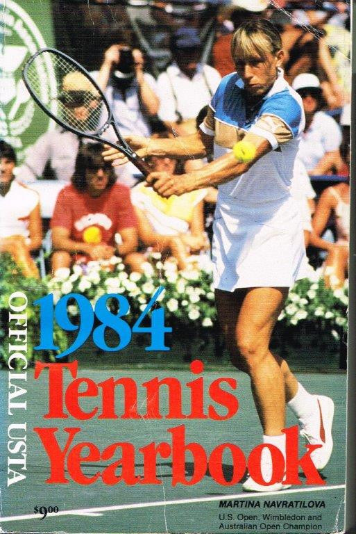 1984 USTA Tennis Yearbook