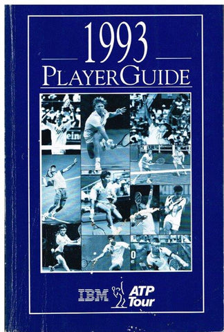 1993 ATP Player Guide