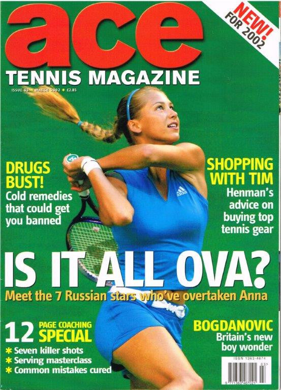 Ace Tennis Magazine 2002 Issue 63