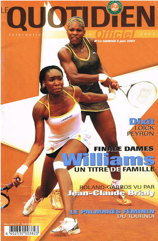 2002 Roland Garros Ladies Final