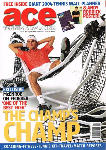 Ace Tennis Magazine 2004 Issue 84