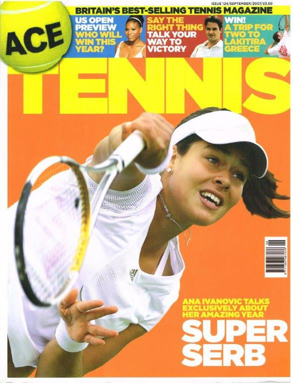 2007 Ace Tennis Magazine Issue 124